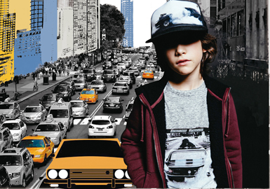2018 S/S Pattern Trend for Boys' Clothing -- City Impression