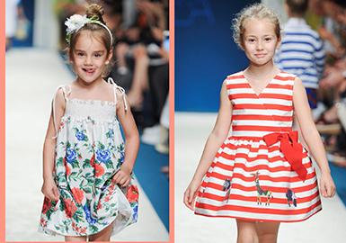 2017 S/S Key Item on Kids' Catwalk -- Dress
