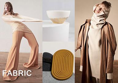 18/19 A/W Womenswear Fabric -- Cozy Time