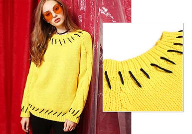 18/19 A/W Women's Knitwear -- Refined Details