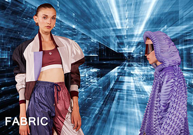 18/19 A/W Fabric Trend Forecast -- Technical & Sporty Materials
