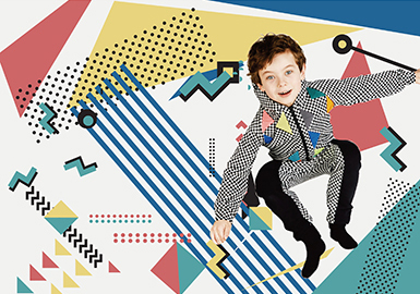 18/19 A/W Pattern for Boys' Wear -- Fun Graphics
