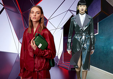 2019 S/S Women's Key Items -- Leather Jacket