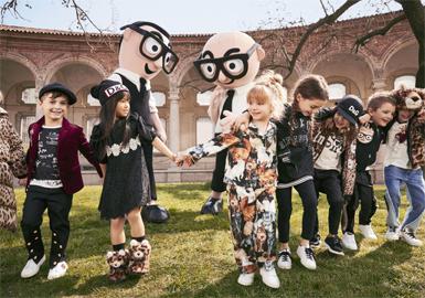 17/18 A/W Kidswear Benchmark Brand -- Dolce & Gabbana