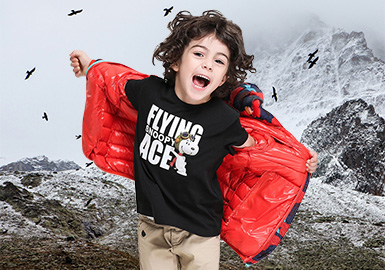 18/19 A/W Boy's Must-have Items -- Stylish Down Jacket