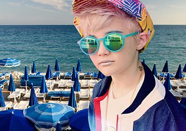 2019 S/S Color for Boys' Wear -- Deep Blue