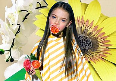 2019 S/S Color for Girls' Wear -- Lemon Meringue