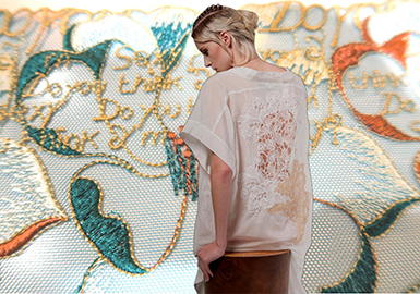 2019 S/S Underwear Craft -- Embroidery