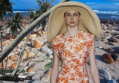 2019 S/S Design Development for Women's Swimwear -- Coastal Vacation