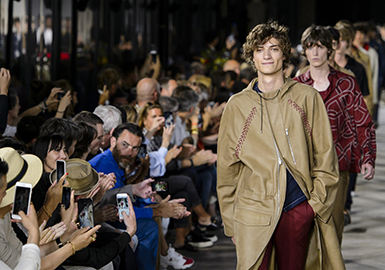 2018 S/S Men's Catwalk -- Theme