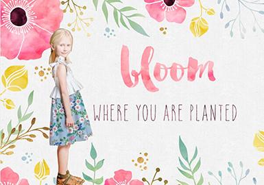 2019 S/S Pattern for Kidswear -- Bloom