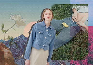 2019 S/S Women's Denim Trend -- Craft & Detail