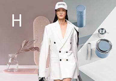 2019 S/S Womenswear Profile -- H-line Blazer