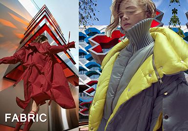 Fabric -- Silhouette (Fabric for Trench Coat & Puffa)