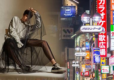 2017 A/W Womenswear in Japanese Market