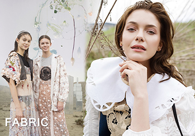 2019 S/S Lace Fabric Trend for Womenswear