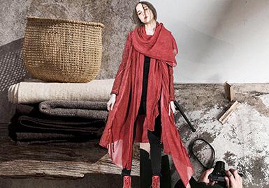 2019 S/S Women's Outerwear -- Deconstructed Cotton & Linen (Silhouette & Pattern)