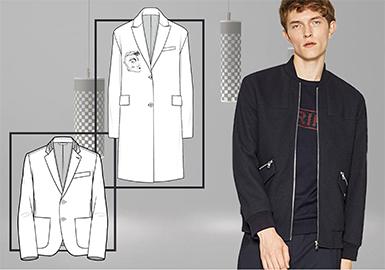 18/19 A/W Menswear -- Business Coat