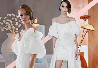2019 S/S Craft Trend for Women's Wedding Dress -- Sleeves