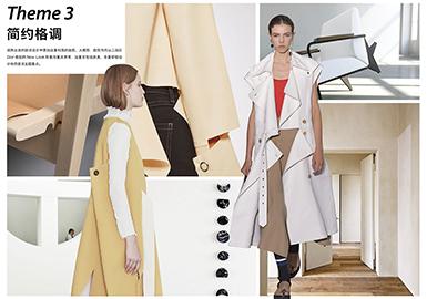 2019 S/S Women's Coat -- Minimalism