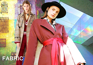 18/19 A/W Women' Wool Coat -- Colors