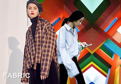 2018 S/S Plaid Fabric for Womenswear