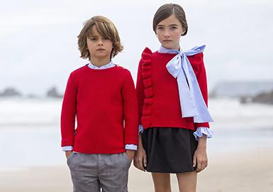 18/19 A/W Color for Kids' Knitwear -- Warm Tone