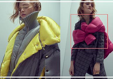 18/19 A/W Women's Down Coat -- Fashion Looks