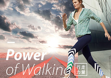 2019 S/S Color for Womenswear -- Power of Walking