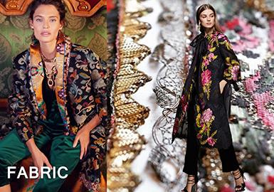 2019 S/S Jacquard Fabric Recommendation -- Regal Romance
