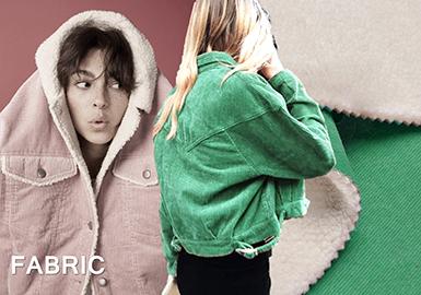 18/19 A/W Womenswear Fabric -- Vintage Corduroy