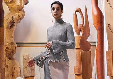 2018 S/S Women's Knitwear Designer Brand -- Peet  Dullaert