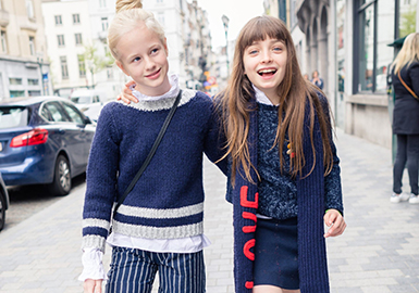 18/19 A/W Kids' Knitwear Style Trend Forecast -- Tops(I)