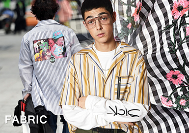 S/S 2018 Men's Shirting -- Fresh Stripe & Check