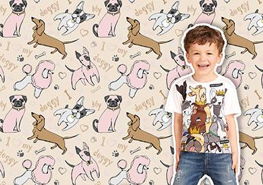 2019 S/S Pattern for Kidswear -- I Love My Doggy