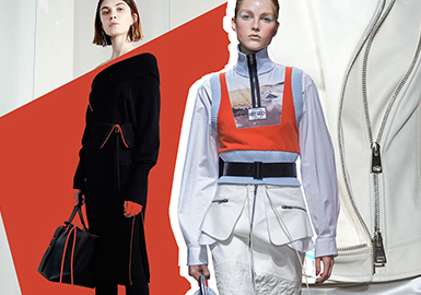 2019 S/S Accessory Trend For Womenswear -- Zipper