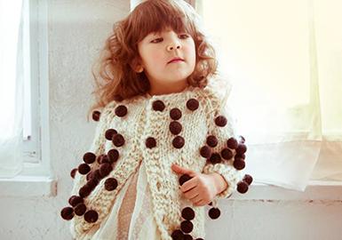 18/19 A/W Kids' Knitwear Trend Forecast -- Details(II)
