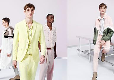 2018 S/S Menswear Benchmark Brand -- ZARA (Mixed Folkloric Style)
