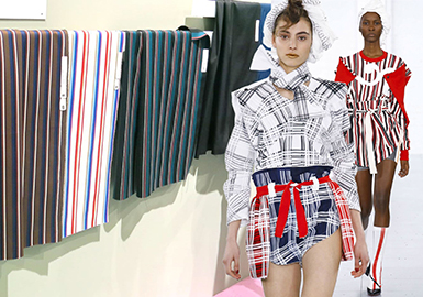 2019 S/S Première Vision Paris -- Striped & Checked Fabric