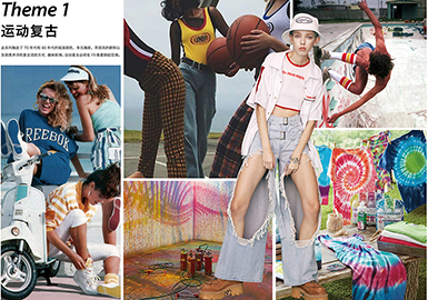 2019 S/S Womenswear Trend -- Sport-infused Retro
