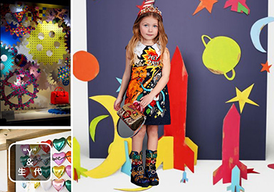 2019 S/S Digital Printing Trend for Kidswear -- Generation Y