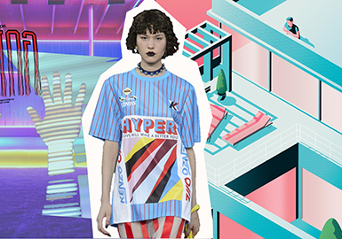 2019 S/S Women's T-shirt -- Street Style