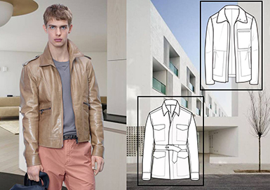 19/20 A/W Styling for Men's Fur & Leather -- Gentleman (Business Casual)