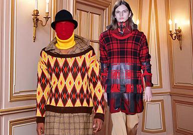 18/19 A/W Pattern for Knitwear on Men's Catwalk -- Nostalgia