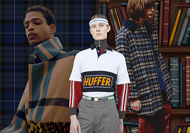 18/19 A/W Menswear Color Trend -- Superior Crisis