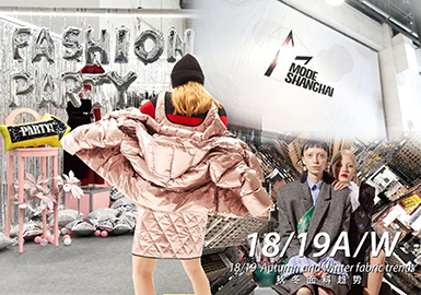 18/19 A/W Trend Confirmation for Textile -- Mode Shanghai