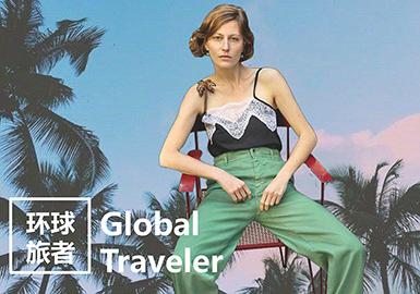 2019 S/S Design Development for Young Women -- Global Traveler