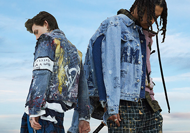2019 S/S Menswear Profile Trend -- Denim Jacket