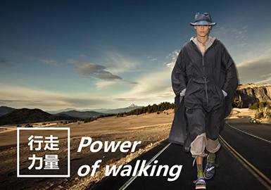 2019 S/S Design Development for Young Men -- Power of Walking