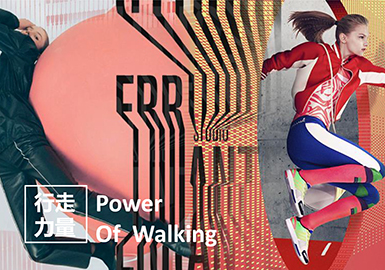 Design Development for Young Women -- The Power of Walking
